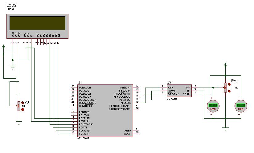 Схема подключения rv1