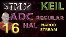 STM32 HAL. ADC. Regular Channel