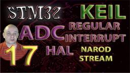 STM32 HAL. ADC. Regular Channel. Interrupt