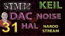 STM32 DAC. Noise
