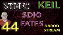 STM SDIO. FATFS