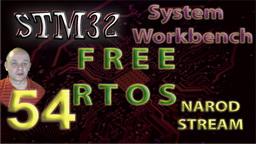 STM32 System Workbench. FREE RTOS