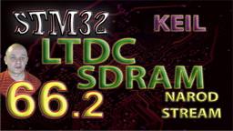 STM HAL. LTDC. SDRAM