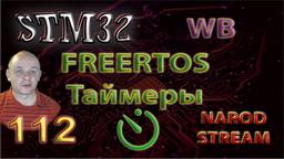 STM FreeRTOS. Таймеры