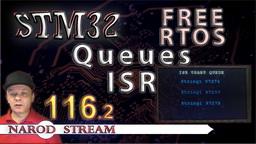 STM FreeRTOS. Прерывания. Очереди в прерываниях