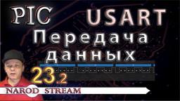PIC Модуль USART. Передача данных