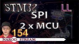 STM LL. SPI. Соединяем два контроллера