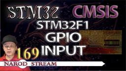 STM CMSIS. STM32F1. GPIO. Input