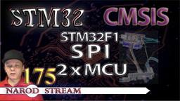 STM CMSIS. STM32F1. SPI. Соединяем два контроллера