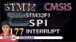 STM CMSIS. STM32F1. SPI. Interrupt