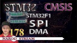 STM CMSIS. STM32F1. SPI. DMA