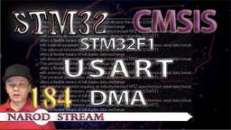 STM CMSIS. STM32F1. USART. DMA