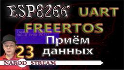 ESP8266 FreeRTOS. UART. Приём данных