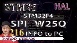 STM HAL. STM32F4. FLASH память W25Q. Используем программу для обмена данными